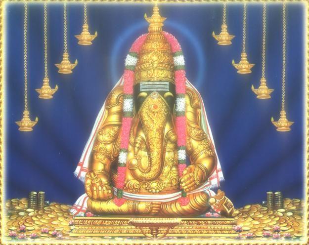 Lord Karpagavinayakar of Pillayarpetti Temple