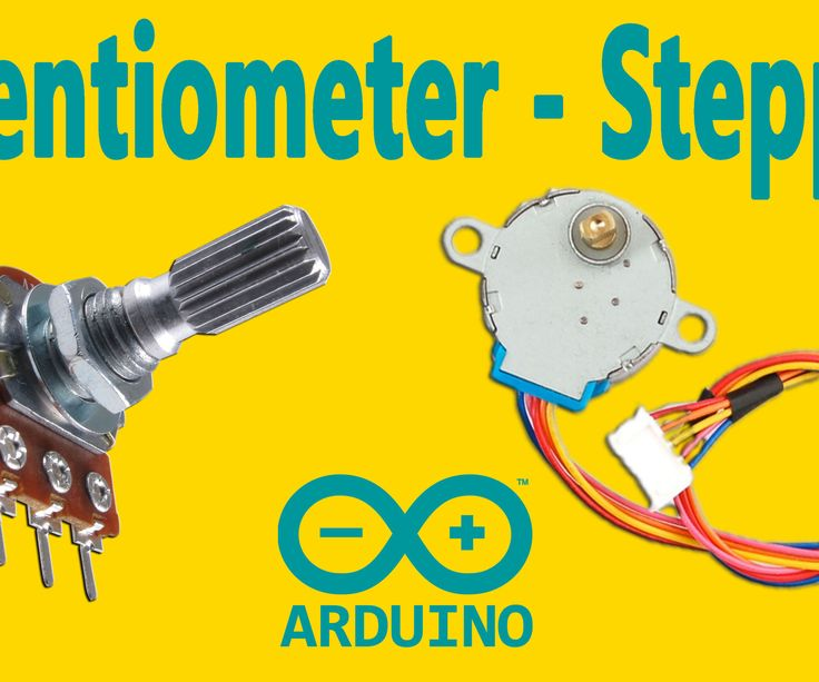 """This instructable is the written version of my """"Arduino : How To Control a Stepper Motor with Potentiometer"""" YouTube video that I've uploaded recently. I strongly recommend you to check it out.My YouTube ChannelFirst, you should see the following Instructable:How to Control a Stepper Motor With L293D Motor Driver"""