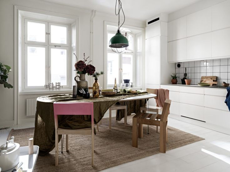 My Happy Place: A Scandinavian Home Featured on Historiska Hem - Bliss