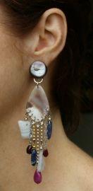 Nature Bijoux Clip Oorbellen Molly (OC-NB-31) - 45 euro. Deze prachtige grote oorbellen zijn online te koop bij Statementpieces.nl http://www.statementpieces.nl/c-1317212-3/merk-nature-bijoux/