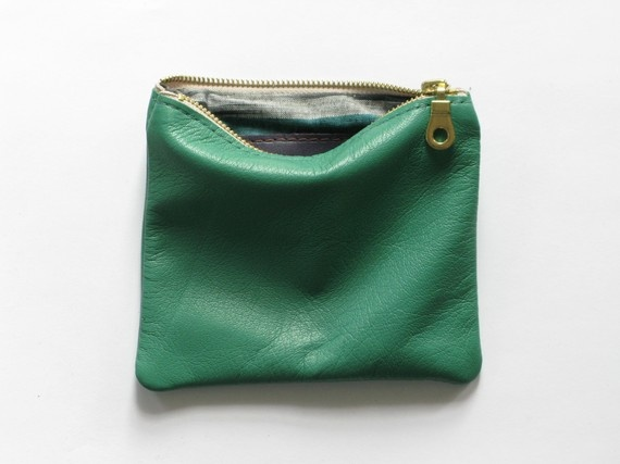 .: Pouch 40, Purse, Bright Green, Bags Clutches, Kelly Green, 40 Etsy, Green Pouch, Bags Shoes