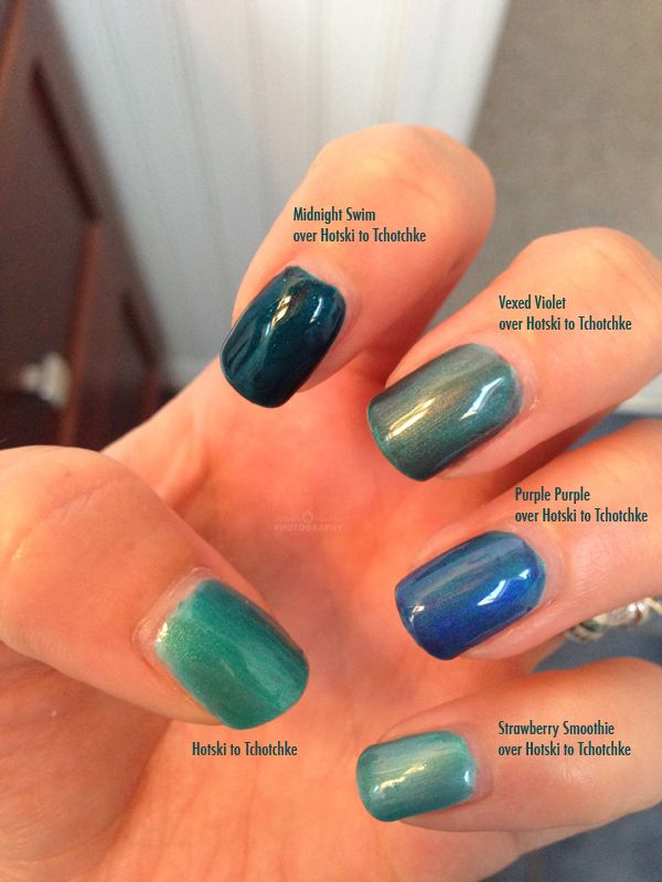 CND Shellac Layering with Hotski