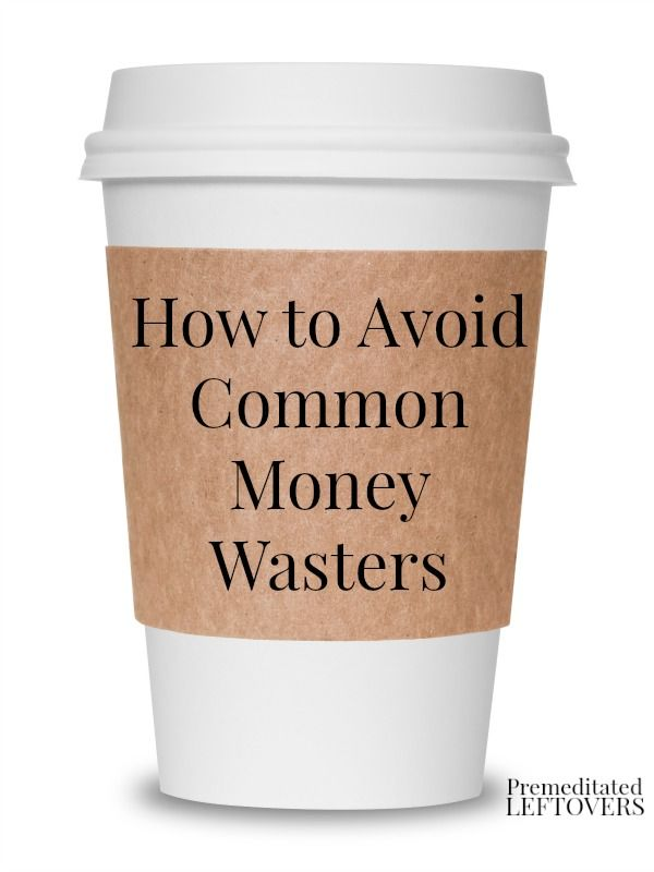 There are many little ways that we waste money without realizing it. Here are some tips on How to Avoid Common Money Wasters that can help you spend less.