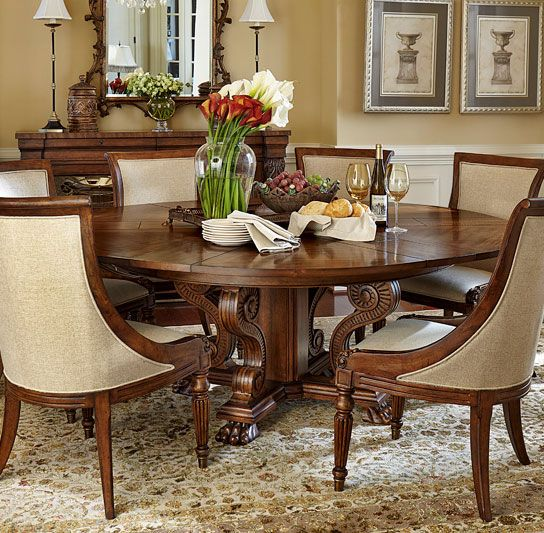 Attirant The Perfect Dining Room Table For Thanksgiving And Holiday Entertaining!  The Private Reserve Dining Table Is Made With 6 Leaves So It Can Expand To  78 ...