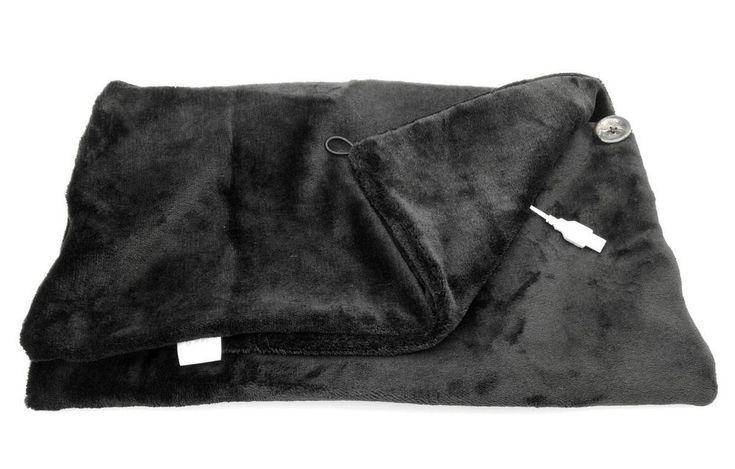 USB Powered Electric Heated Shawl Blanket with Cushion & Keep Warm Wrap  #7Buy