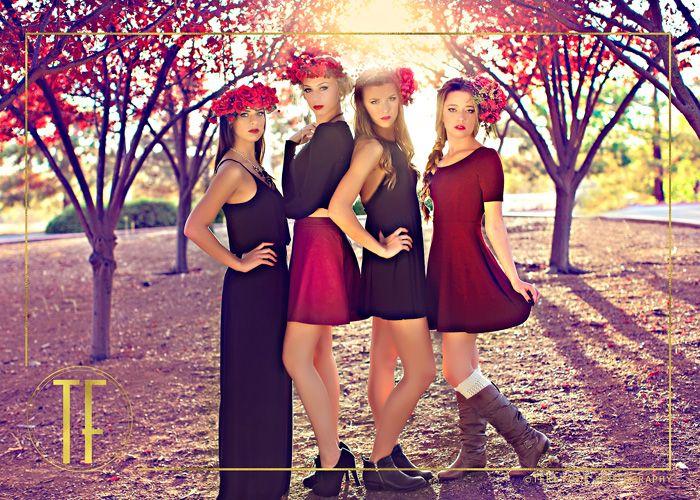Senior Picture Ideas for Girls   Floral Crowns   sacramento senior pictures
