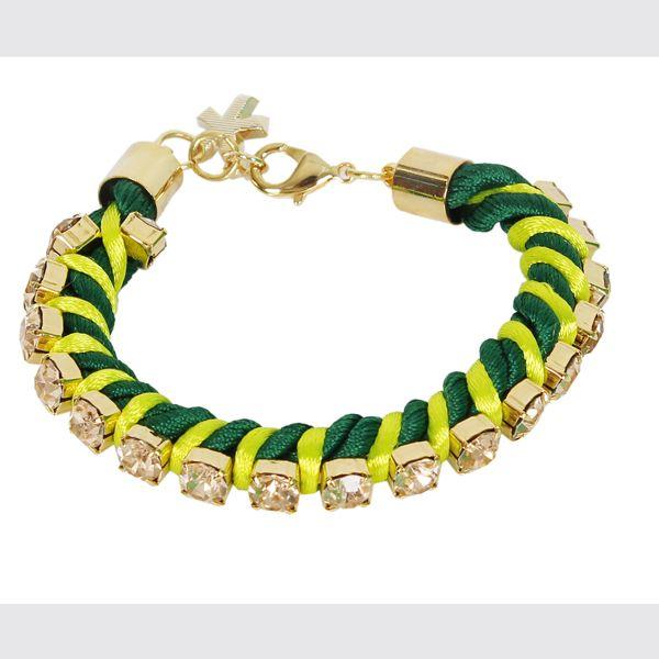 #whoswho #greenbird #abudhabi #abudhabistyle #abudhabifashion #dubai #dubaistyle #dubaifashion #marinamall #womenswear #casualwear #spring2014 #summer2014 #springsummer2014 #ss14 #accessories #bracelet #chunkybracelet #greenbracelet #turquoiseandgold #bejeweled #bejeweledbracelet