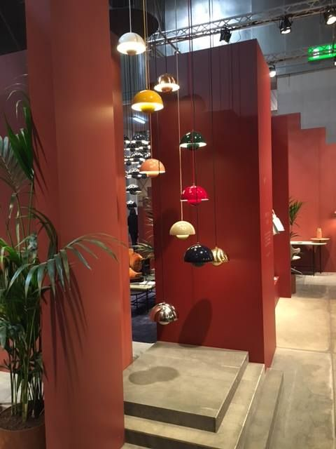 &tradition launches the Flowerpot in new colours in Milan!