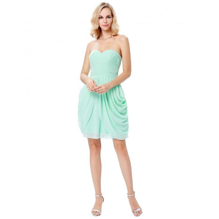 Tyrkysové spoločenské šaty GK000124
