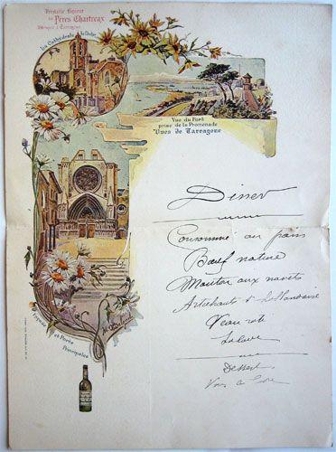Vues de Tarragone, illustrateur Delgado