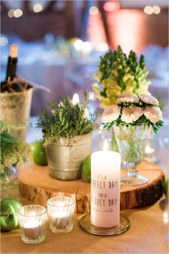 rustic country barn wedding centerpiece / http://www.deerpearlflowers.com/rustic-barn-wedding-ideas/