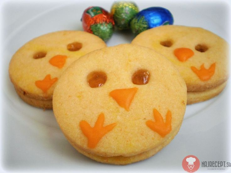 Pomarančové veľkonočné koláčiky