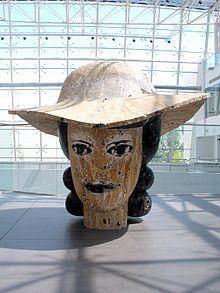 Manolo Valdés:  Lillie (2006) museo Wurth La Rioja