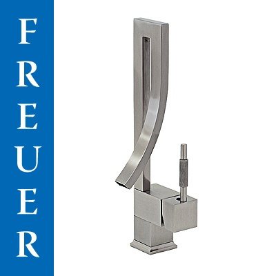 new freuer modern brushed nickel kitchen stainless sink wet bar vessel faucet ebay