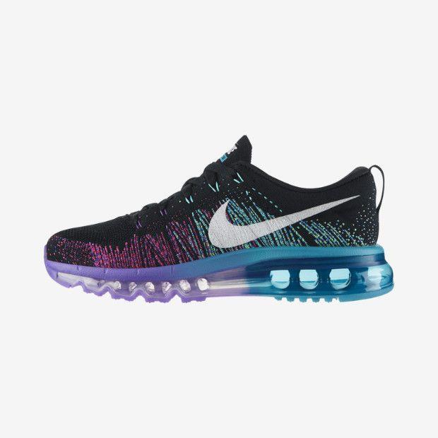 ... Nike Flyknit Air Max Women's Running Shoe ...