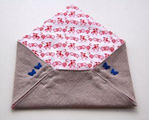 Envelope de tecido...