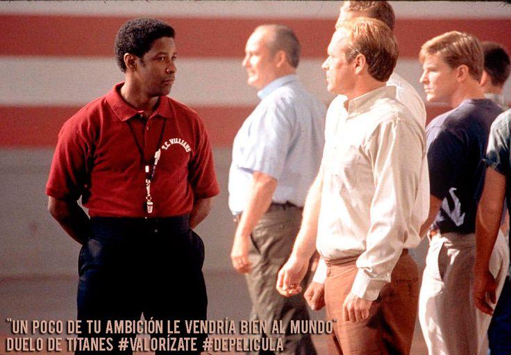 """#valorizate este miercoles #depelicula """"Duelo de titanes"""", una película que debes ver cuando te hace falta un impulso en tu vida. http://gloria.tv/media/PQ7aqUjVe5s"""