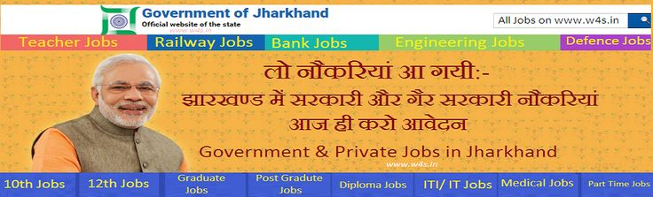 Police Jobs / Bank Jobs in Jharkhand, Teacher Jobs in Jharkhand, Eligible candidates can apply online form from here, Download Jharkhand Job Notification