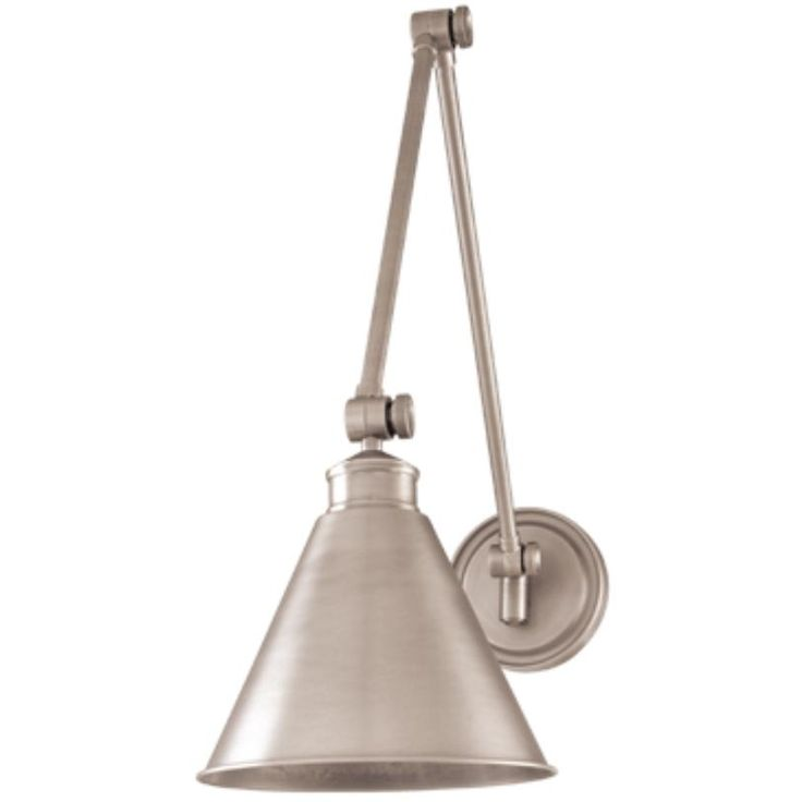 Hudson Valley Lighting Exeter Wall Sconce In Antique Nickel
