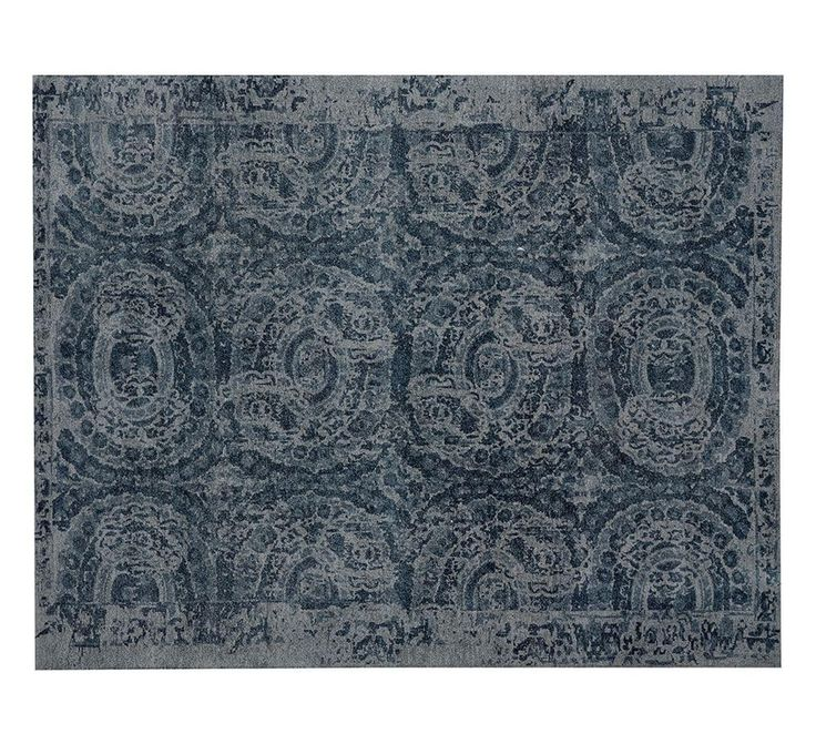 Pottery Barn - Bosworth Blue Rug 274x365