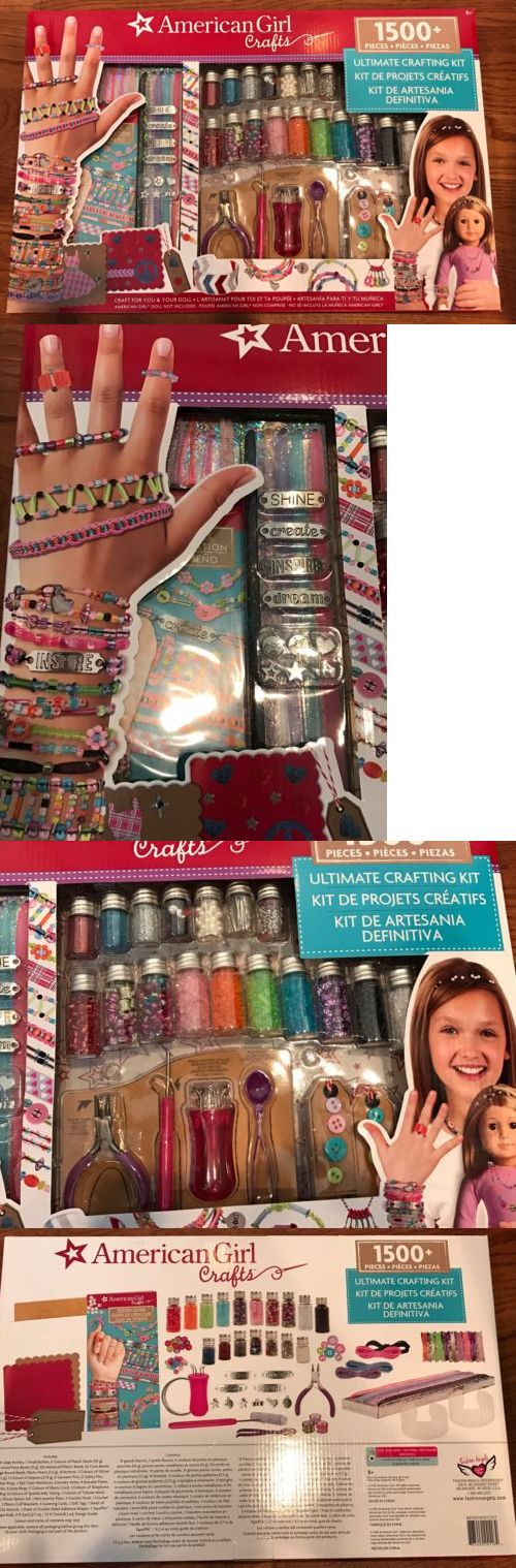 Craft Kits 116655: New American Girl Ultimate Crafting Super Set Jewelry Jewelry Making Kit -> BUY IT NOW ONLY: $47.99 on eBay!