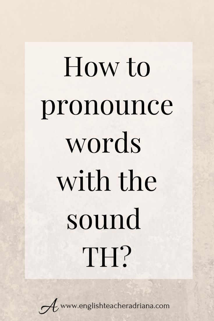 How To Th : Pronounce, Words, English, Pronunciation, Training, Improve, Accent, Speak, Clearly, Learning,, Words,