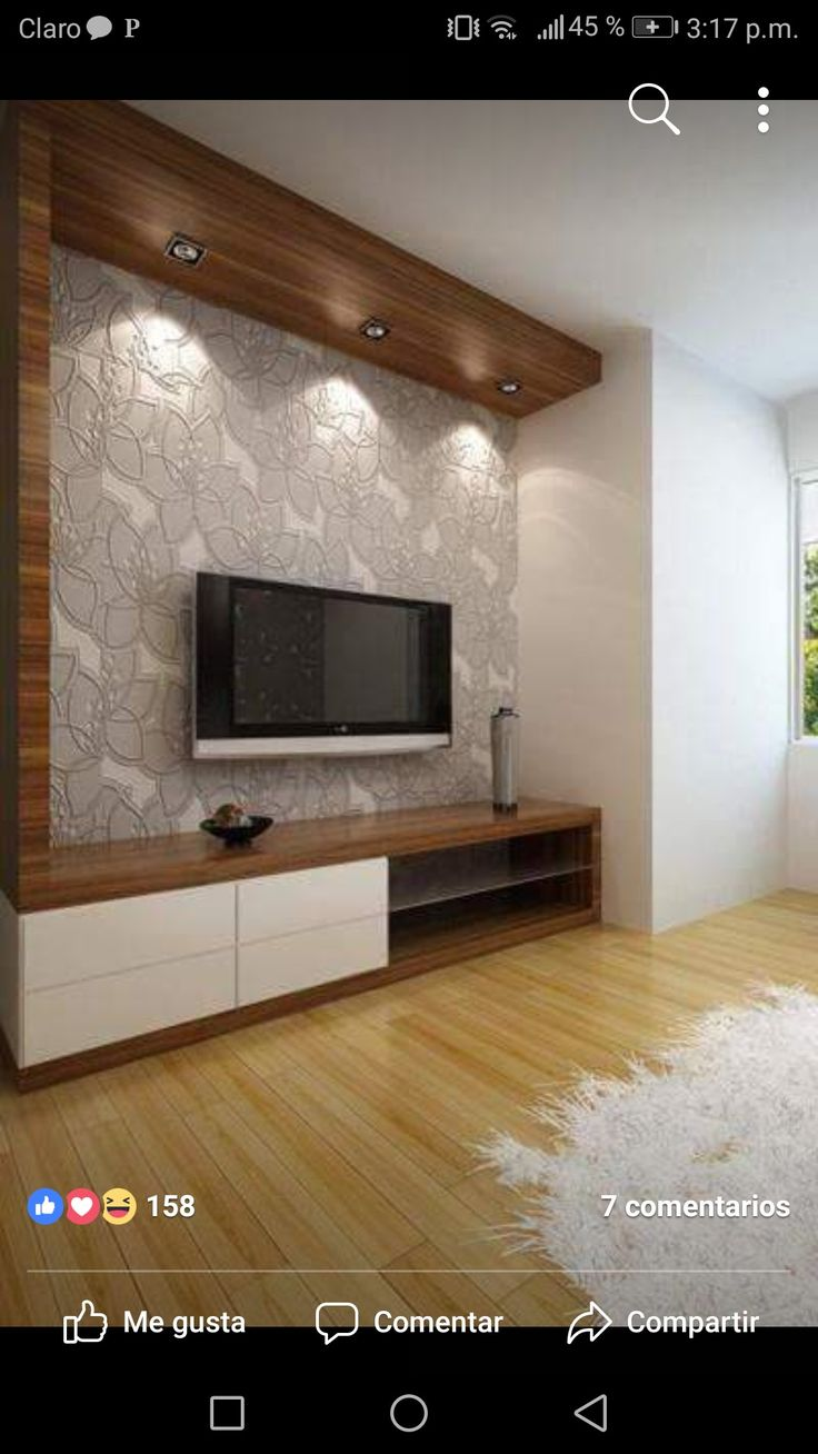 Living Room Lcd Tv Wall Unit Design Ideas: Living Room Designs By Stavros Microft