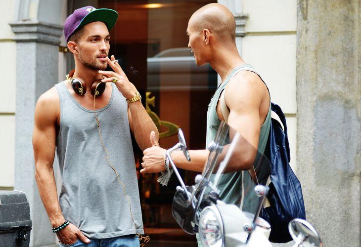 Modelos em Milão, por Tommy Ton