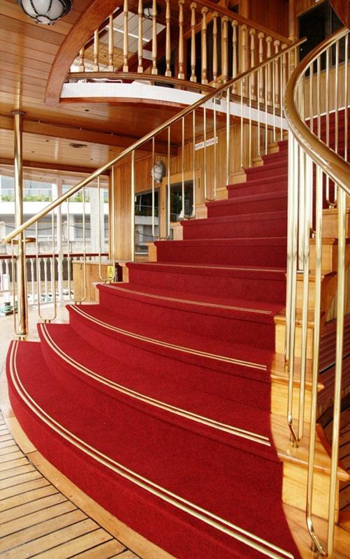 #Kookaburra #River #Queen #redcarpet #stairs #beautiful #cruise