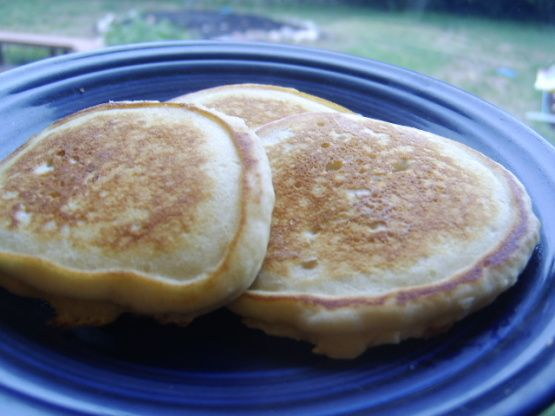 Unlike American pancakes, the Australian pikelets can be purchased ready-made in grocery stores. You can eat the cold or hot and they are typically topped with cream, jam, fruit or butter and sugar! They are handle for snacks and lunches. I found these on an Australian website. Enjoy!
