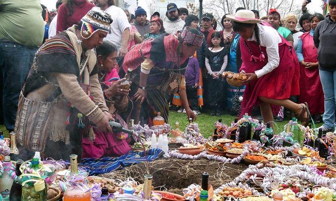 1ero de agosto celebración del Día de la Pachamama