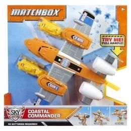 Tristian & Trace 1 each- Matchbox Coastal Commander Airplane. Spent- $4 (kmart clearance)