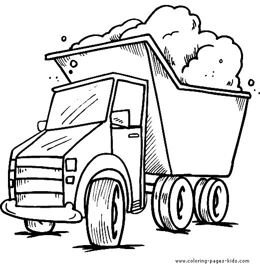 118 best Color paint Transportation images on Pinterest - copy simple tractor coloring pages