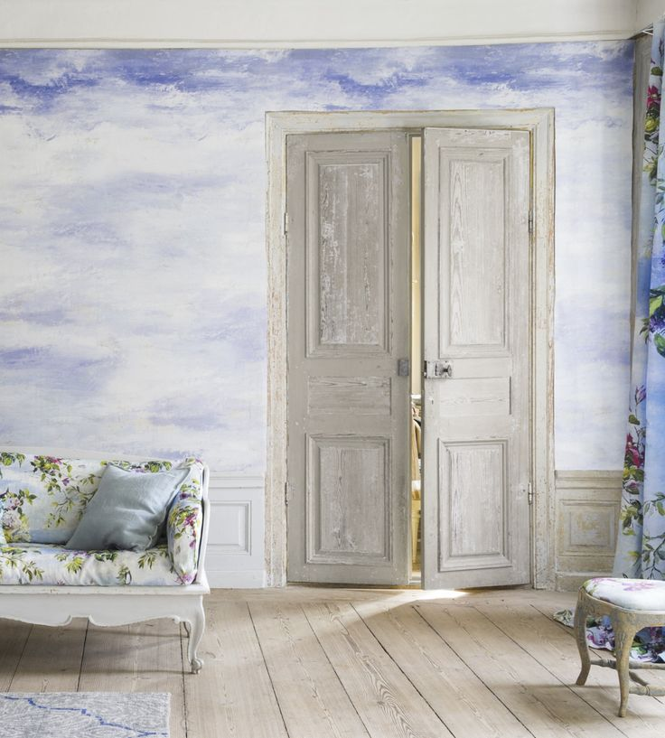 Design Classics | Nautical | Cielo Wallpaper by Designers Guild | Jane Clayton