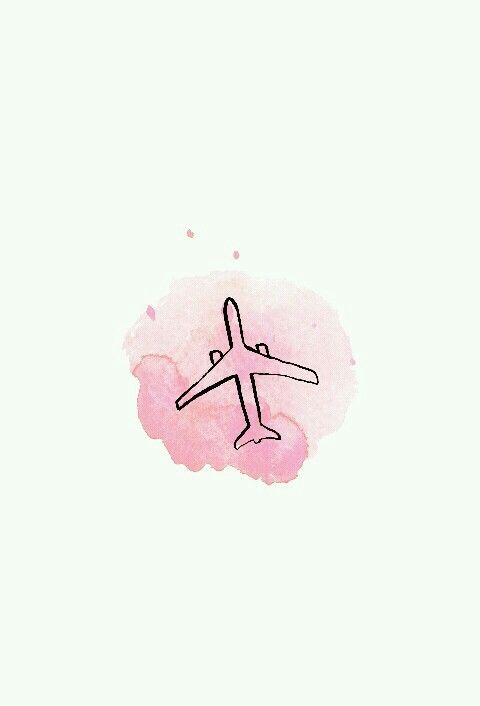 Imagem de pink, travel, and wallpaper