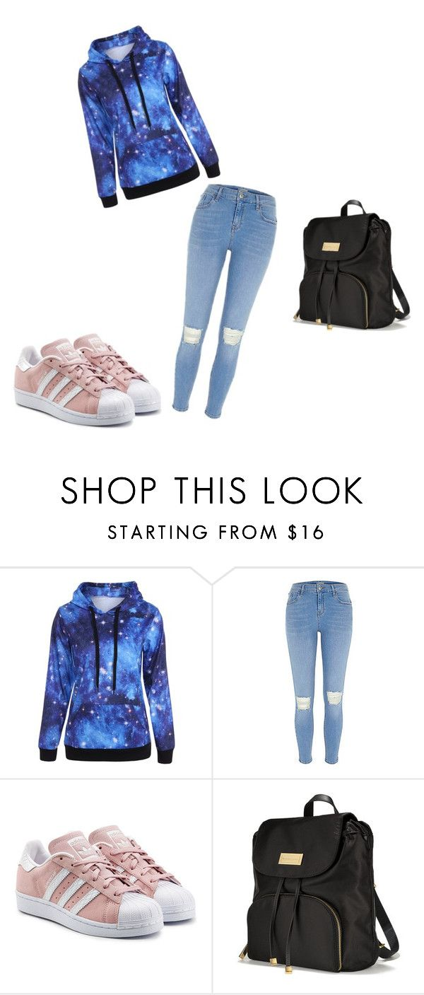 """Bez tytułu #7"" by zuzia-apanasewicz on Polyvore featuring moda, adidas Originals i Victoria's Secret"