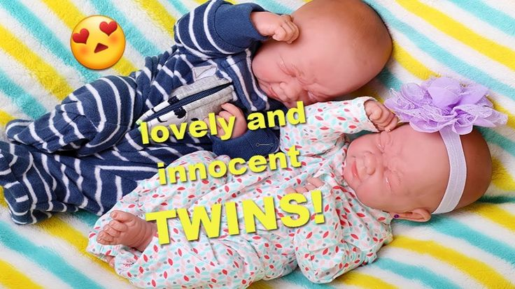 lovely and innocent TWINS! Preemie Berenguer La Newborn Reborn Preemie Doll
