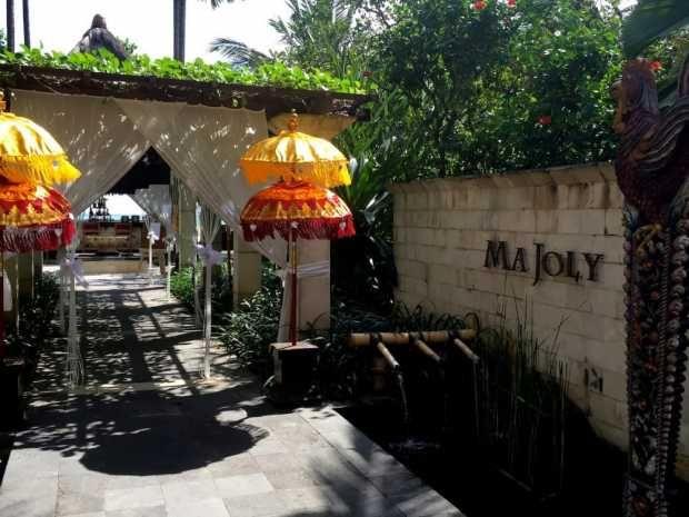 Ma Joly, a Romantic Gourmet Nook in Kuta, Bali - Omar Niode Foundation