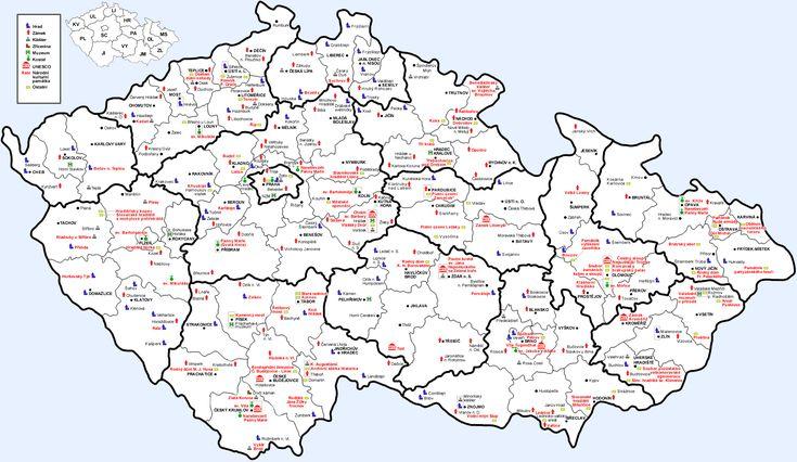 Průvodce po Česku - hrady, zámky a jiné památky