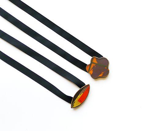 Resin necklaces Naszyjniki z żywicy. 110 zł