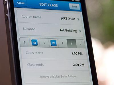 App User Scheduling