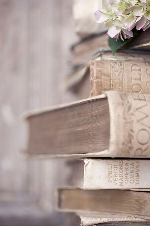 Faded books