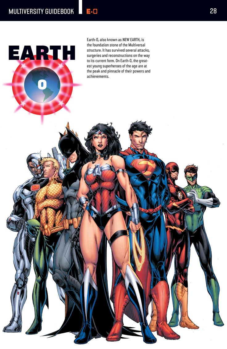 The DC Multiverse: Earth 0.