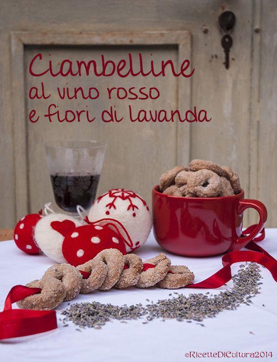 Ricette di Cultura: Ciambelline al vino rosso con i fiori di lavanda