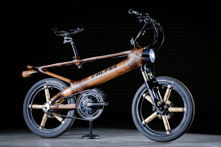 Calfee bamboo eBike complete