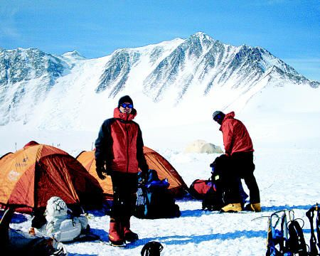 26. Summit Vinson Massif