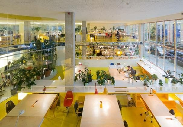 the best office in the world selgas canos new work space in london buildings architectural review pinterest work spaces in london and building best office in the world