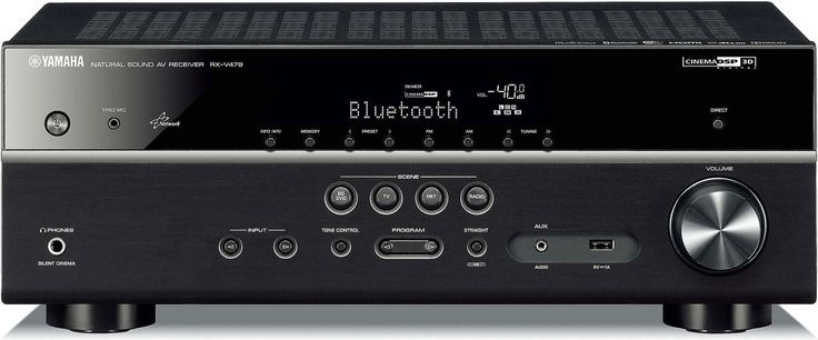 Yamaha RX-V479. A sound investment. One thing our customers consistently comment on in their reviews of Yamaha home theater receivers is what a great value they are for the money.