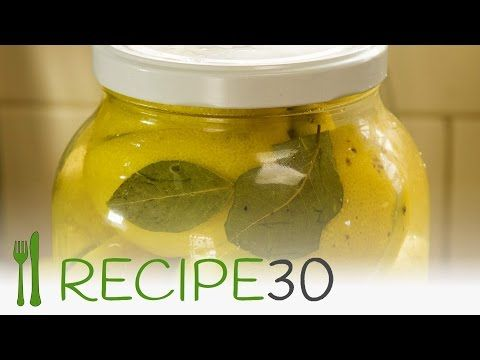 How To Preserve Lemons – Easy Meals with Video Recipes by Chef Joel Mielle – RECIPE30