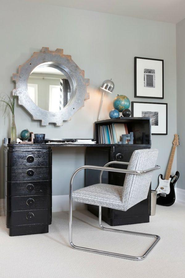 die besten 25 wandspiegel rund ideen auf pinterest wohnzimmer spiegel gro er wandspiegel und. Black Bedroom Furniture Sets. Home Design Ideas